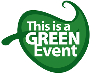 This is a Green Event, Green Conferencing, Green Events