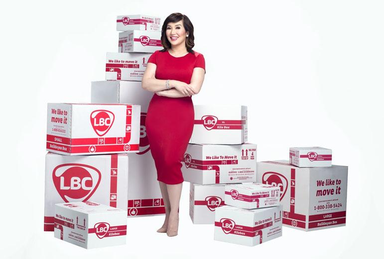 Kris Aquino on LBC Branches