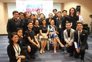 TeamAsia with VP Leni Robredo