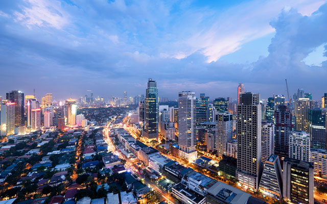 Makati, the financial center of the Philippines